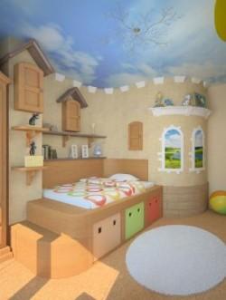 Дизайн детской комнаты для мальчика: подбираем проект