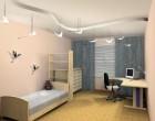 Дизайн интерьера детской комнаты для мальчика в стиле «тачки»