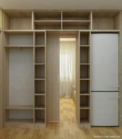 Шкаф-перегородка: супер идея для дома.