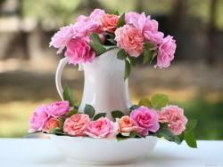 Букет цветов будет дольше радовать.