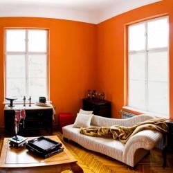 В сладостном плену у персикового цвета в интерьере